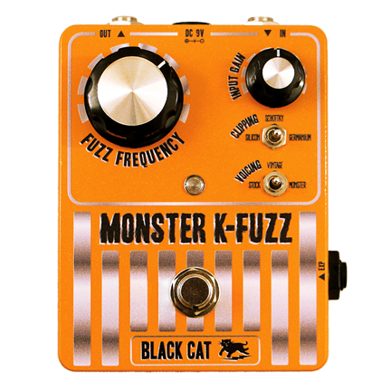 Black Cat Monster K-Fuzz Stompbox