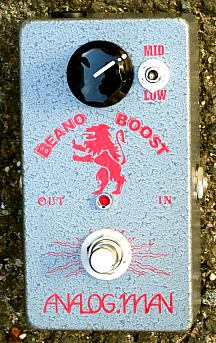 Analog Man Beano Boost Pedal