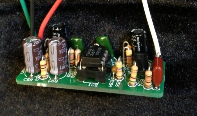 Analog Man Buffer Board