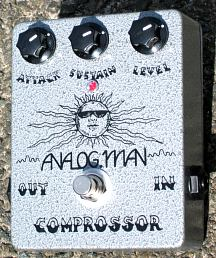 Analog Man 3 Knob Large Comprossor