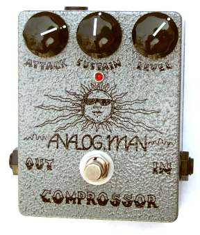 Analog Man large COMPROSSOR pedal