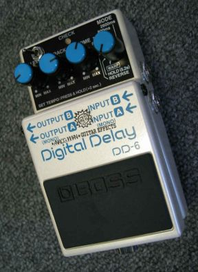 Boss DD-6/Hicut Digital Delay Pedal PAT
