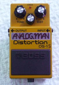 Boss DS-1/Pro Distortion pedal