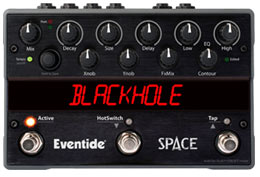 Eventide Space Reverb and Delay Pedal