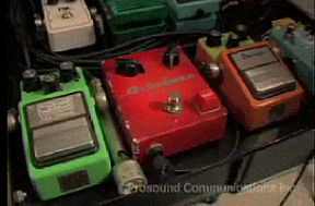Ibanez TS9 and TS808 Tube Screamers, Maxon OD9 and similar