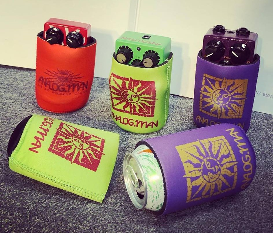 Analog Man Koozie Beverage Cooler