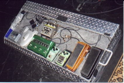 old pedalboard