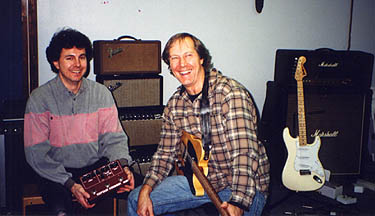 Jim Weider (with Tele) and analogmike