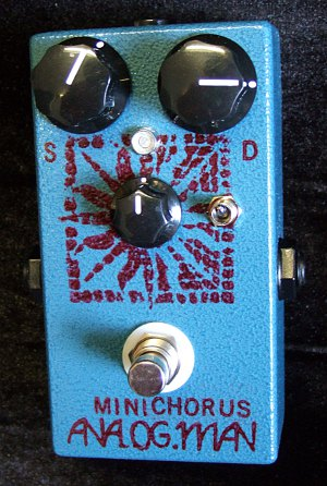 Mini-Chorus blue with mix knob