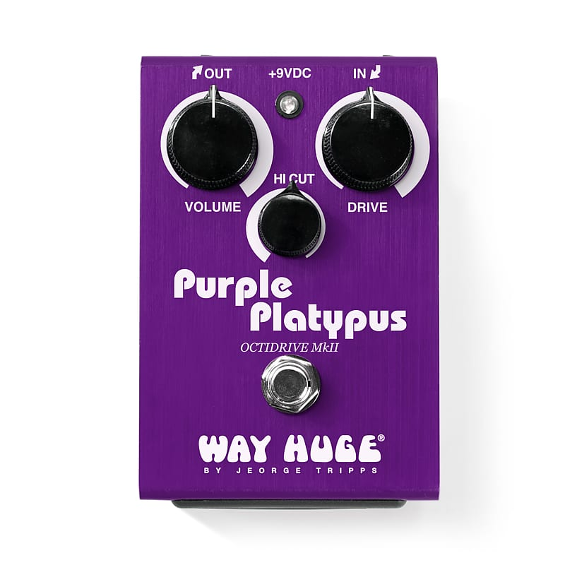 Way Huge Purple Platypus MkII Octidrive Guitar Pedal WHE800