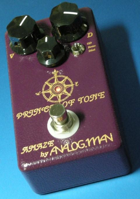 Analog Man Prince of Tone overdrive