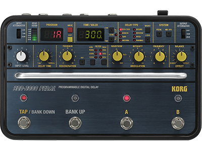 KORG SDD-3000 Programmable Digital Delay Pedal