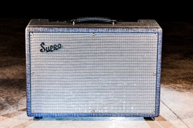 Supro USA 1624T Dual-Tone combo 1x12 Amplifier