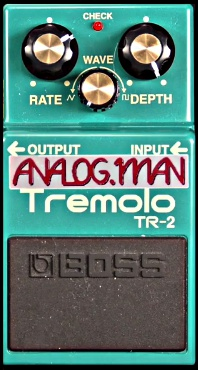 Boss Effects Pedals and Modifications