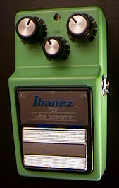 Ibanez TS9 and TS808 Tube Screamers, Maxon OD9 and similar effects