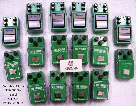 Analog Man Tube Screamer Collection
