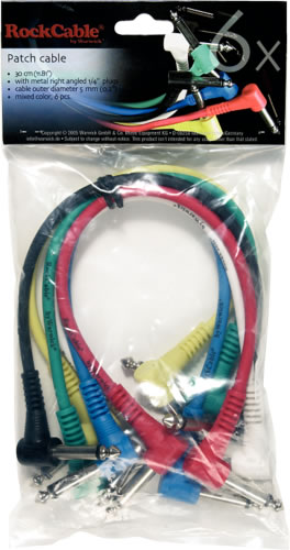 Warwick Patch Cables
