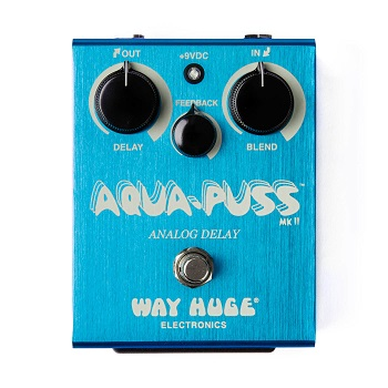 Way Huge Aqua-Puss MK-II Analog Delay Pedal