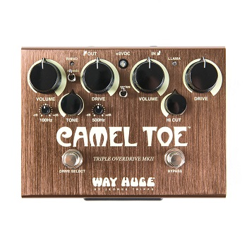 Way Huge Camel Toe Triple Overdrive MKII WHE209  Pedal
