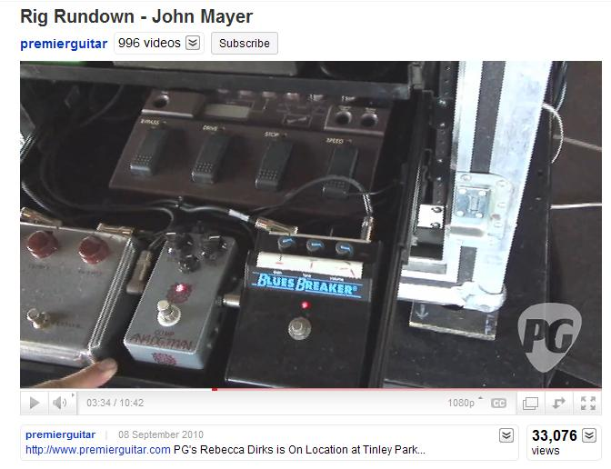 anyone know about john mayer 39 s current choice of compressor the gear page. Black Bedroom Furniture Sets. Home Design Ideas